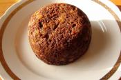 Christmas Carrot Pudding And Sauce