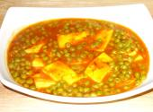 Matar Paneer Curry