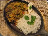 Matar Mushroom Sizzler By Chef Sonali