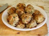 Szechuan Lotus Root Meatballs
