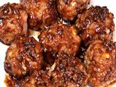 Healthy Honey Garlic Meatballs - Gluten Free