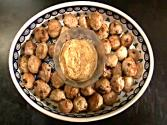 Oven Roasted Medieval Pork Balls With Mustard Sauce