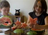 2 Kids Cooking Tv: Melon Pops