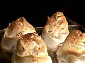 Baked Coffee Ice-cream With Meringue