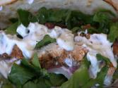 Smokingpit.com - Mesquite Grilled Chicken Gyros With An Authentic Greek Tzatziki Sauce
