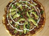 Mexican Style Pizza  (carnitas Pizza)