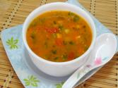 Mid-winter Veggie Herbed Soup By Bhavna - Asia Eats Collaboration