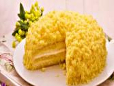 Women&#039;s Day Mimosa Cake