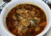 Minestrone Soup - Quick &amp; Easy Single Pot Cooking 