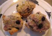 Mini Corn Muffin With Blueberries