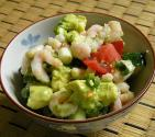 Minty Avocado Shrimp Salad