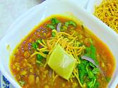 Misal Pav Or Matki Usal - Spicy Curry With Buns