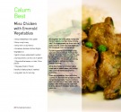 Calum Best's Miso Chicken With Emerald Vegetables