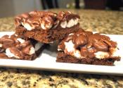 Guilt Free Mississippi Mud Bars