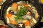 Mizore Nabe With Vegetable And Fish Fillet