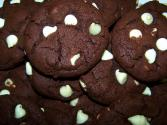Gluten Free Mocha Hazelnut Cookies