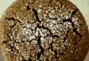 Homemade Molasses Crinkle Cookies