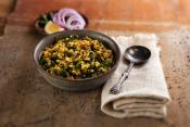 Yellow Mung Beans With Spinach   Dal Palak