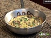 How To Make Spinach, Mushroom And Carmelized Onion Frittata