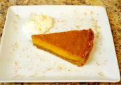 Moroccan Inspired Sweet Potato Pie