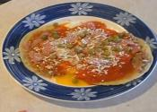 Mexican Eggs On Tortillas