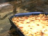 Macaroni And Blue Cheese Casserole