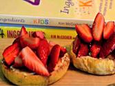 English Muffins With Strawberries