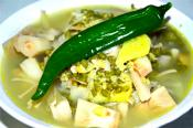 Filipino Mung Bean Soup With Unripe Jackfruit