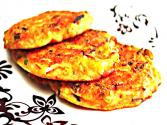 Korean Food: Mung Bean Pancake (녹두 빈대떡)