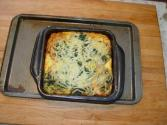Mushroom And Vegetable Strata