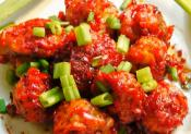 Mushroom Manchurian