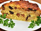 Loaded With Protein Mushroom, Onion And Egg Strata