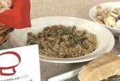 Barley Pilaf With Mushrooms And Walnuts