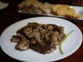 Mushrooms With Anchovies