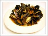 Mussels With Sambuca And Fresh Basil