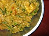 Green Peas Tofu/paneer Masala