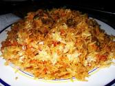 Aromatic Meat Biryani