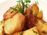 Steamed New Potatoes In Buttered Herbs