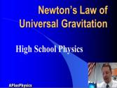 High School Physics - Newton's Law Of Universal Gravitation