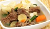Nilagang Baka With Veggies