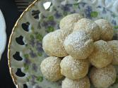 No Bake Lemon Tea Cookies