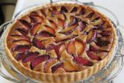 Normandy Yellow Plum Tart