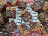 Nutella Swirled Blondies