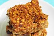 Filled Oatmeal-date Bars
