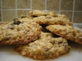 Swedish Raisin Oatmeal Cookies