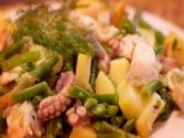 Octopus Recipes And Dishes Part 1 - How To Make An Octopus Salad