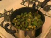 Okra Stir-fried