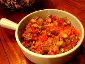 Stewed Tomatoes And Okra