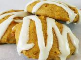Old-fashioned Soft Pumpkin Cookies With Vanilla Glaze