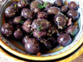 Olives With Garlic And Lemon